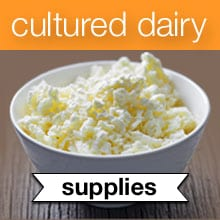 Cultured Dairy & Basic Cheese eCourse Recommended Resources