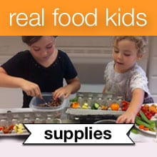 Real Food Kids eCourse Recommended Resources