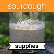 Sourdough eCourse Recommended Resources